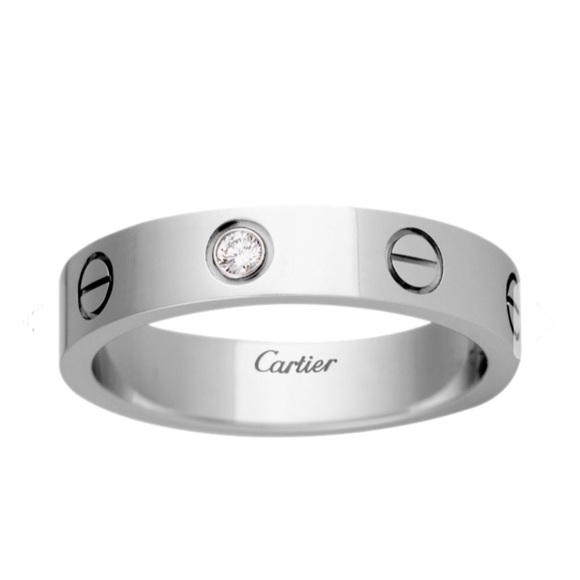 cartier love ring full diamond